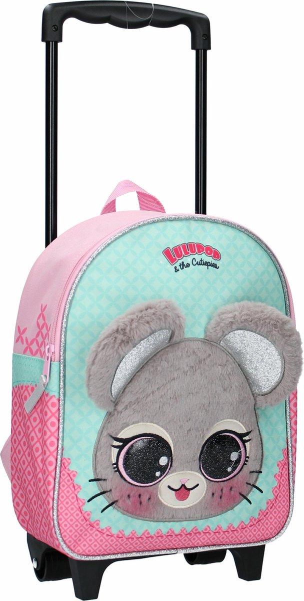 Lulupop & the Cutiepies Animals Rugzaktrolley - 8,25 l - Elephant
