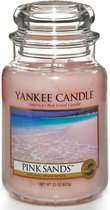 Yankee Candle Large Jar Geurkaars - Pink Sands