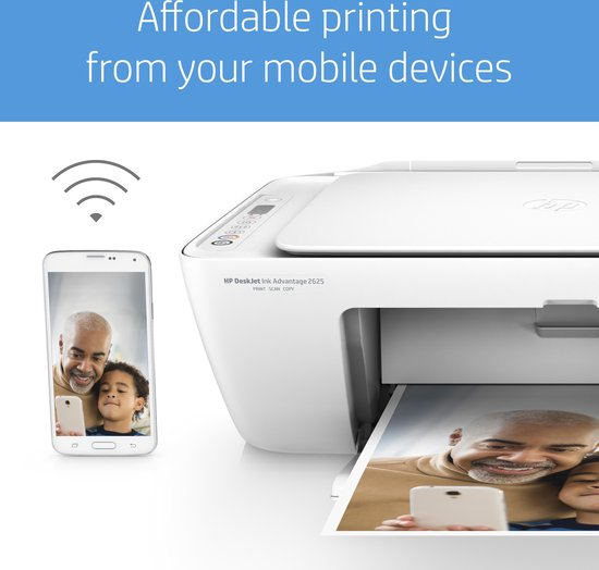 HP DeskJet 2620 - All-in-One Printer