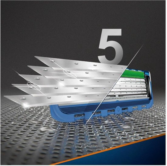 Gillette Fusion Proglide Power Scheermesjes Mannen - 8 stuks