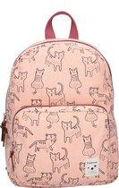 Kidzroom Backpacks Kidzroom Animal Academy Kinderrugzak 34 cm - Roze - Schattige katten print