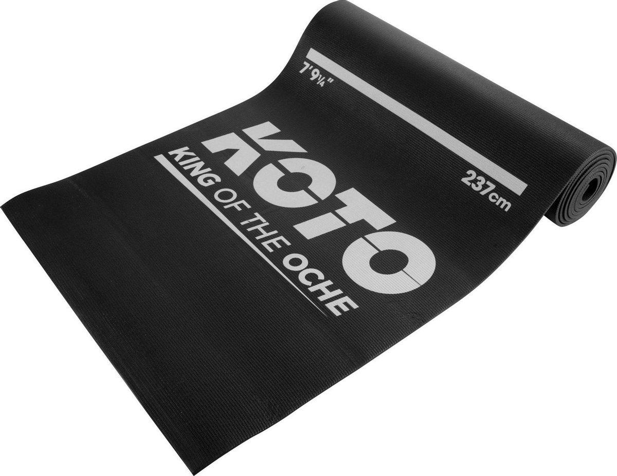 KOTO Foam Dartmat 290x60cm - Dart Mat met werplijn