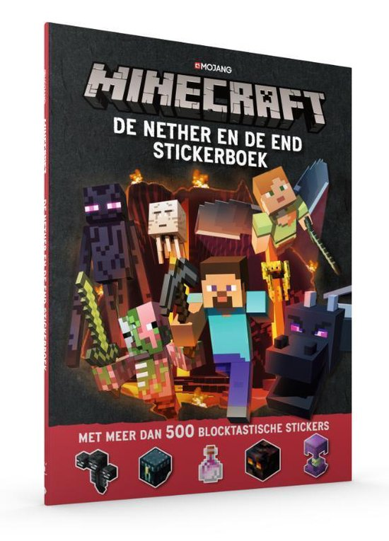 Minecraft - De Nether & de End Stickerboek - none pdf epub