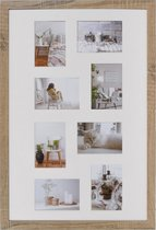 Fotolijst - Henzo - Modern - Fotomaat 50x75 - Middenbruin
