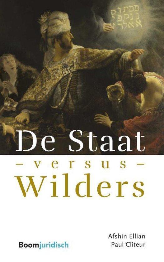 Boek cover De Staat versus Wilders van Afshin Ellian (Paperback)