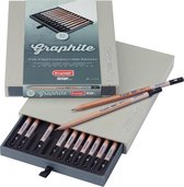 Bruynzeel Design box 12 grafietpotloden 2H t/m 9B