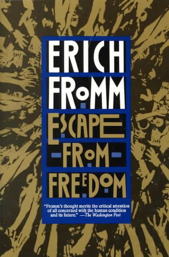 Boek cover Escape from Freedom van Erich Fromm (Paperback)