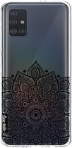 Samsung Galaxy A51 (2020) hoesje Floral Mandala Casetastic Smartphone Hoesje softcover case