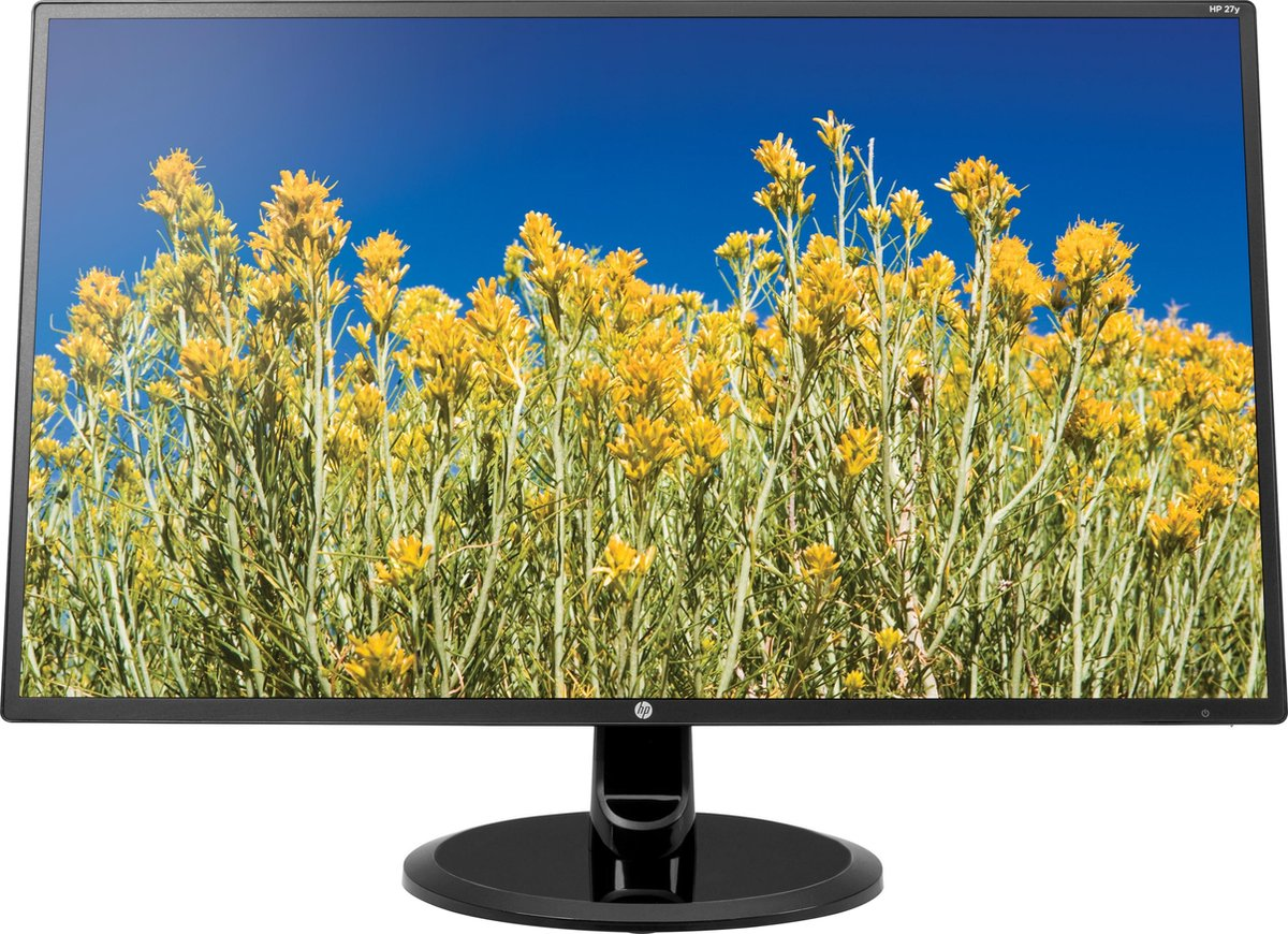 "HP 27"" FHD 1920x1080 VGA HDMI DVI-D 5ms black kopen"