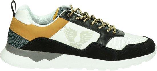 PME Dragstout zwart wit sneakers heren (S) (PBO202014-999)