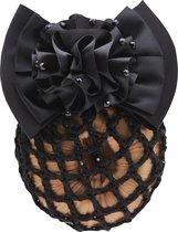Horka Flower Glitter - Haarstrik - Zwart