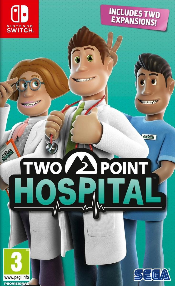 Two Point Hospital – Switch