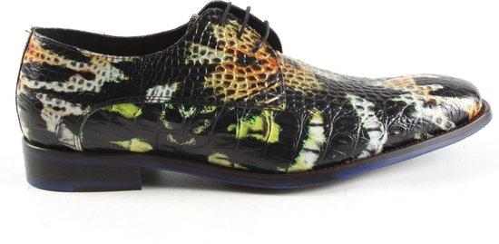 Floris Van Bommel Heren Nette schoenen 18204 - Multi - Maat 41