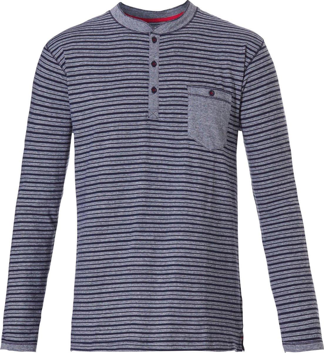 Pastunette heren pyjama Mix and Match 623 4 XL Blauw