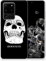Samsung Galaxy S20 Ultra Silicone Back Case Skull Eyes