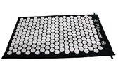 Flowee Spijkermat – Zwart met Wit – (75cm x 45cm) – Acupressuur mat – Acupressure mat