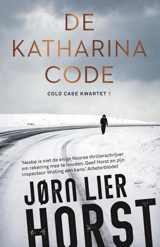 Boek cover De Katharinacode van Jørn Lier Horst (Onbekend)
