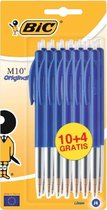 Bic balpen M10 - Blauw - 14 stuks