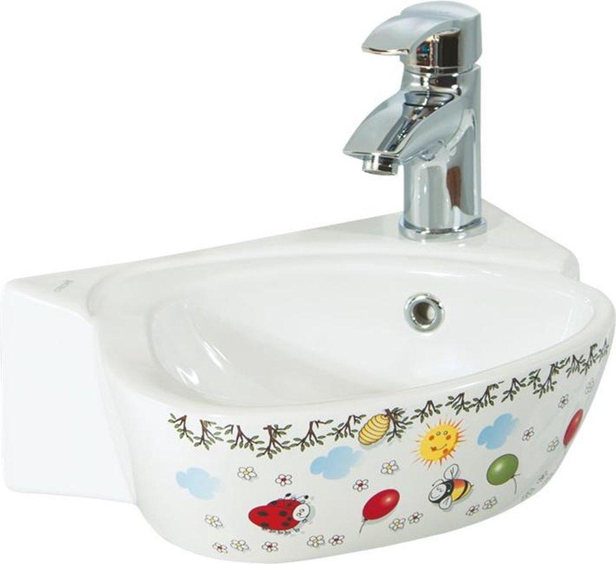 Creavit CK035 Kinderbadkamer Wastafel Wit
