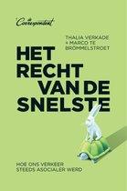 Boek cover Het recht van de snelste van Thalia Verkade (Paperback)