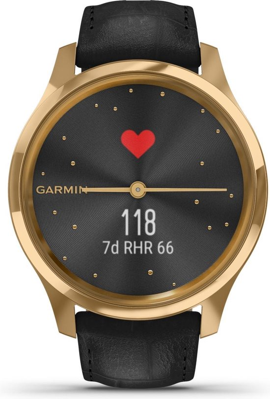 Garmin vívomove Luxe - 42 mm - Goud