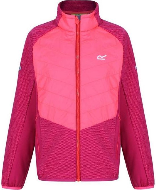 Regatta Childrens/Kids Elter Full Zip Stretch Fleece
