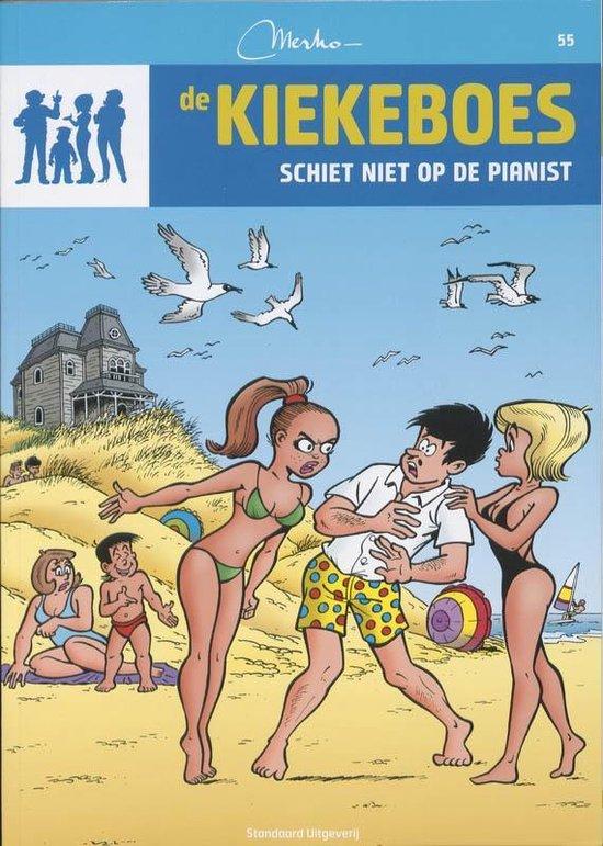 Cover van het boek 'De Kiekeboes 055 Schiet niet op de pianist'