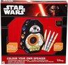 Star Wars Kleur je eigen Speaker BB8 â?? 28x16x5cm | Maak je eigen Box Kleur set