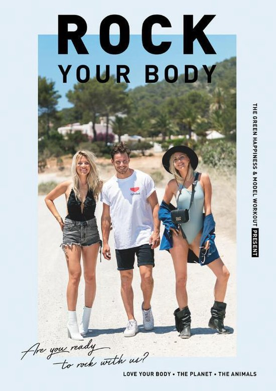 Boek cover Rock Your Body van Tessa Moorman (Hardcover)