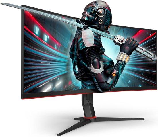 AOC CU34G2 - QHD Curved Gaming Monitor - 100hz - 34 Inch
