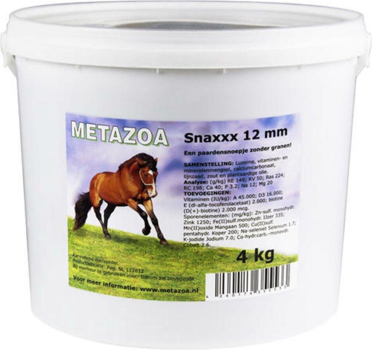 Metazoa Snaxxx Paardensnoepjes - 4 kg