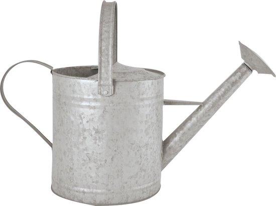Zinken gieter - 6,5 liter - Zilvergrijs