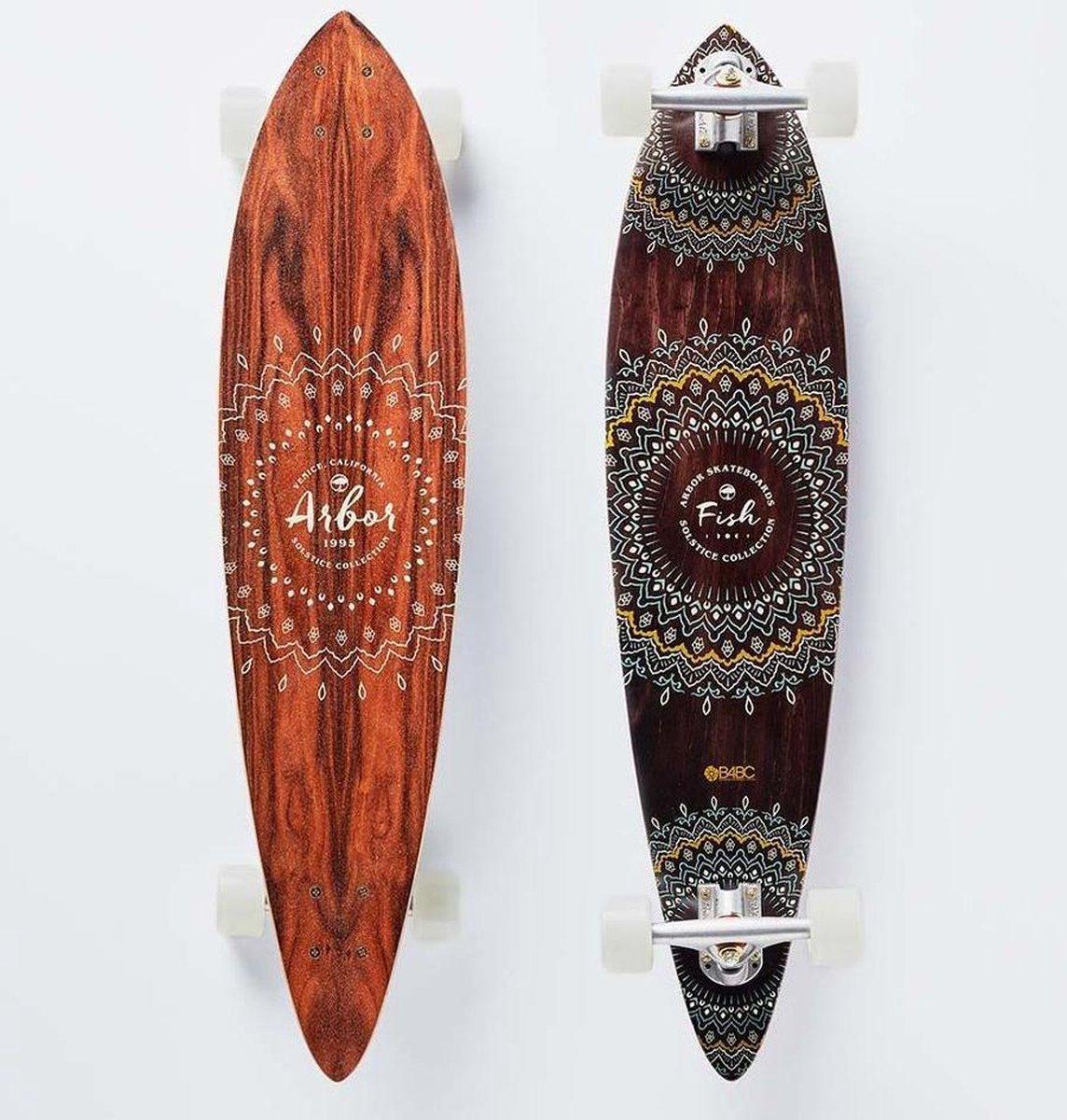 "Arbor Solstice Fish B4BC 37"" longboard"