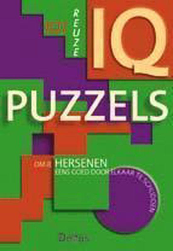 Cover van het boek '101 reuze IQ puzzels' van Son Tyberg