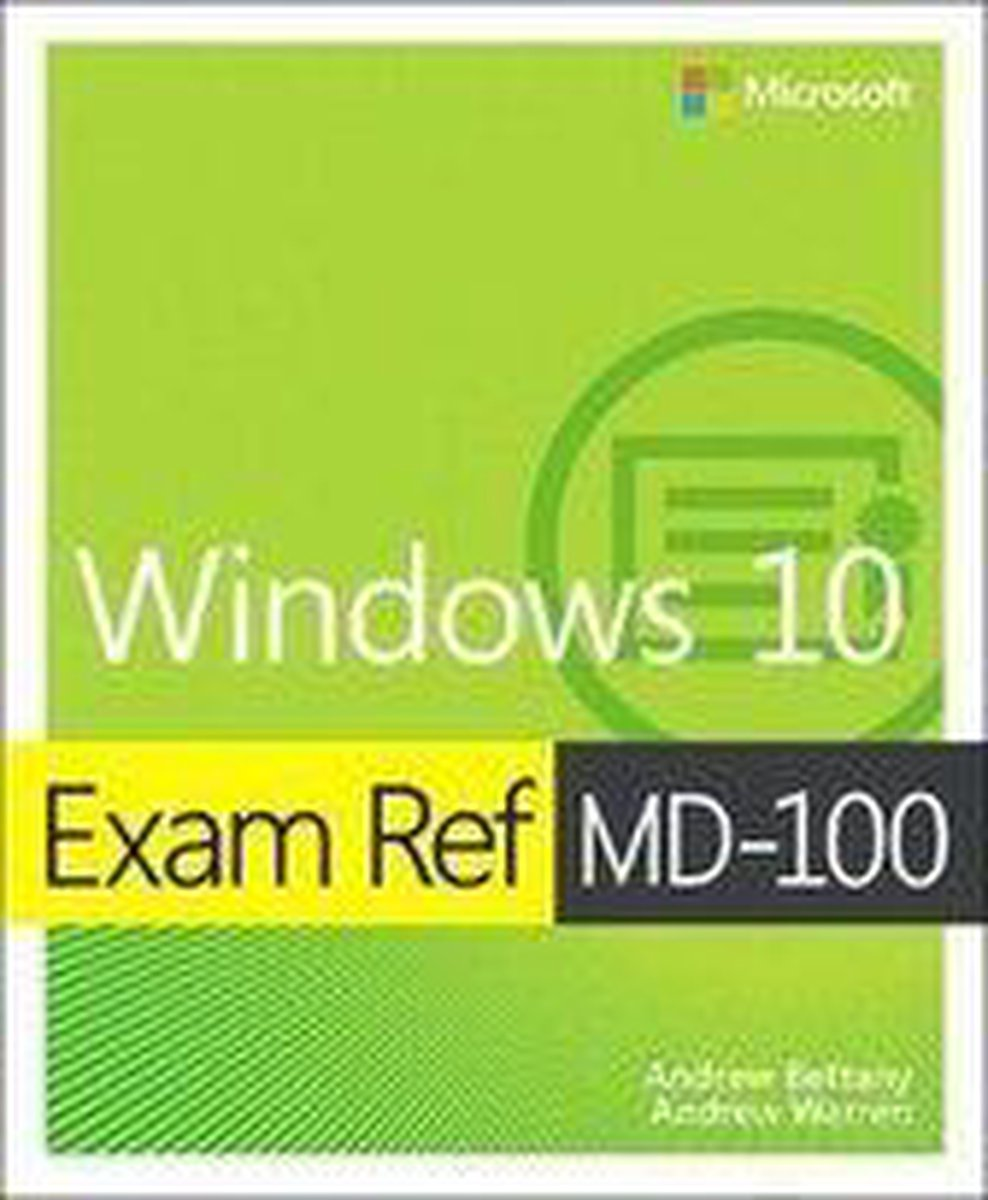 Exam Ref MD-100 Windows 10