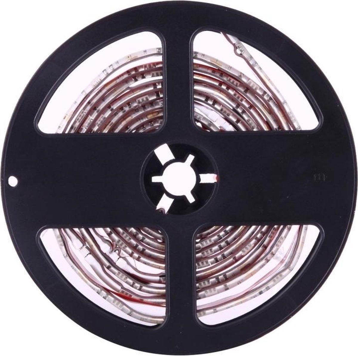 4 x 50 cm USB-tv Epoxy Rope Light, Breed: 10 mm, 3 W IP65 Waterdicht 30 LED's SMD 5050 met 44-toetsen afstandsbediening (kleurrijk licht)