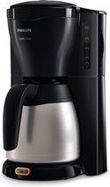 Philips Zwart koffiezetapparaat met timer en thermische kan