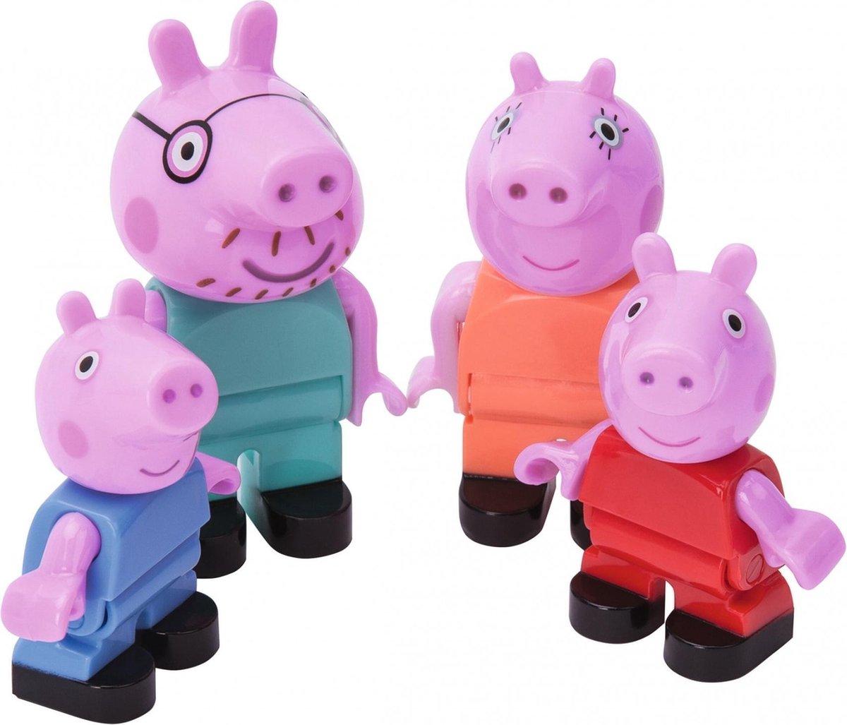 BIG Bloxx Peppa Pig Peppa´s Family - Constructiespeelgoed - BIG