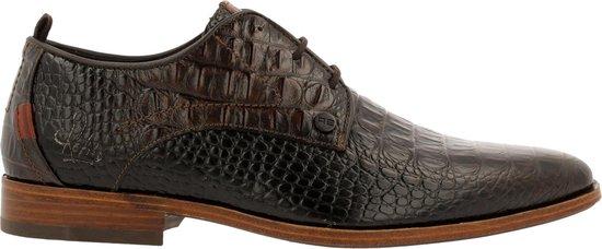 Rehab Heren Nette schoenen Greg Croco Verniz - Bruin - Maat 43