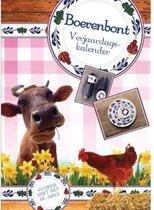 Boerenbont Verjaardagskalender - Formaat A4