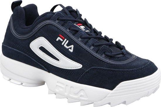 Fila Disruptor S Low 1010490-29Y, Mannen, Blauw, Sneakers maat: 42 EU