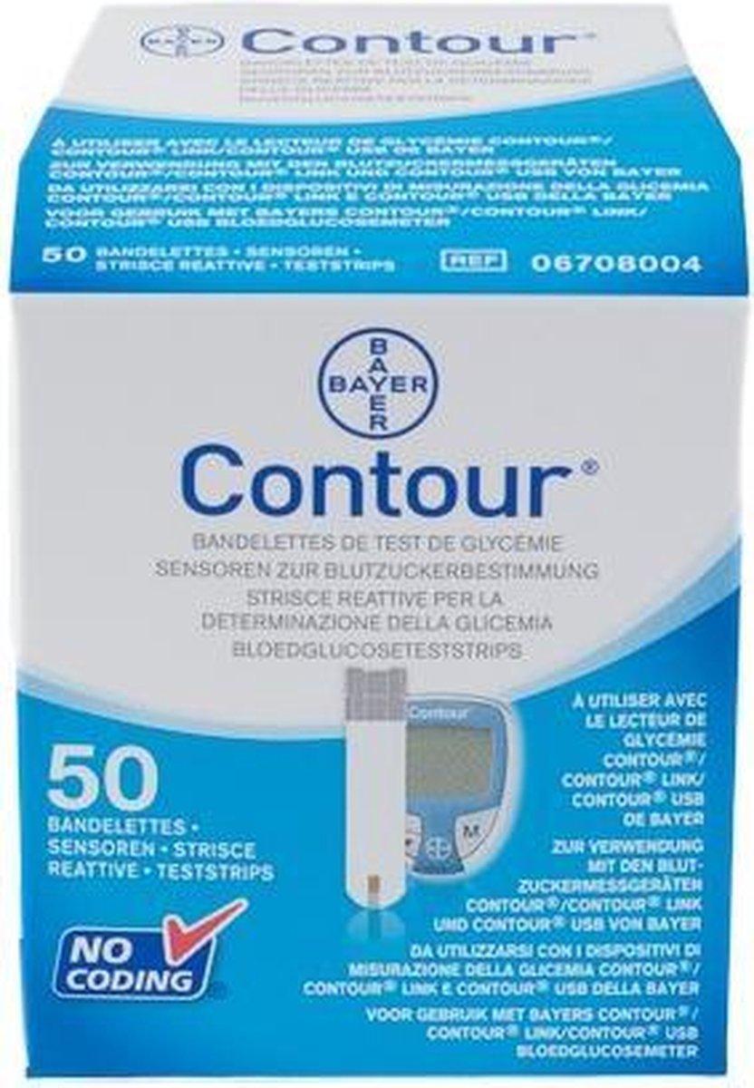 Bayer Contour usb meter teststrip