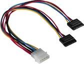 Hama Power Supply Cable 5,25-2X Ser Ata