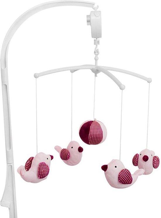 Product: Baninni - Muziekmobiel Pink Bird BN091, van het merk Baninni