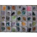 Mix ruwe mineralen showdoos - 3-5 - Mineraal