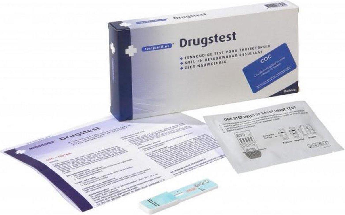 Testjezelf.nu - Drugtest Cocaine - 3 stuks - Drugstest
