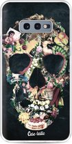 Samsung Galaxy S10e hoesje Vintage Skull Casetastic Smartphone Hoesje softcover case