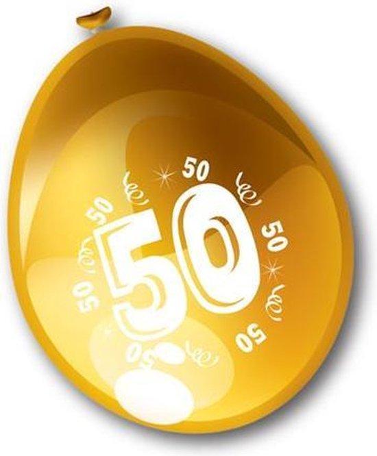 Ballonnen 50 jaar goud