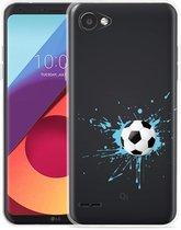 LG Q6 Hoesje Soccer Ball