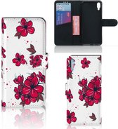 Sony Xperia L3 Hoesje Blossom Rood